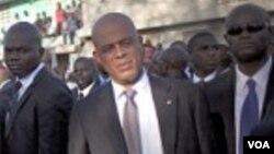 Prezidan ayisyen an, Michel Martelly