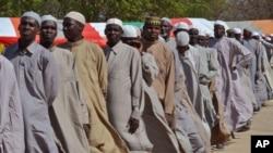 Wasu da ake kyautata zato 'yan Boko Haram ne da har yanzu ana tsare dasu