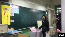 台湾大选投票日图片汇集
