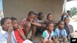 Crianças moçambicanas
