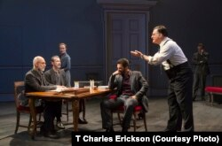 In J.T. Rogers' new play, Oslo, a group of Israeli, Palestinian, Norwegian and American men and women struggle to overcome their fears, mistrust and hatred of each other to forge a historic peace agreement.