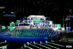 Ceremonija otvaranja EYOF-a 2019. na stadionu Asim Ferhatović Hase, Sarajevo, 10. februar 2019.