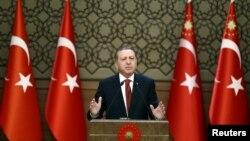 土耳其總統埃爾多安10月26日資料照。