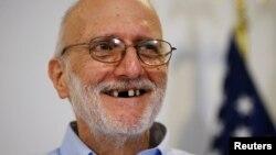 Alan Gross permaneció en una prisión en Cuba, desde el pasado 2009. Fue finalmente liberado el pasado 17 de diciembre.