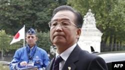 Thủ tướng Trung Quốc Ôn Gia Bảo tại Brussels