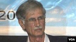 صوبہ خیبر پختونخواہ کے وزیراعلیٰ پرویز خٹک