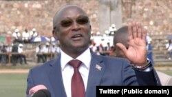 Visi-Prezida w'Uburundi Gaston Sindimwo