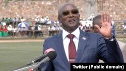 Visi-Prezida wa mbere w'Uburundi Gaston Sindimwo