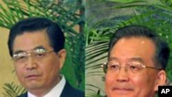 中共总书记胡锦涛, 中国国务院总理温家宝