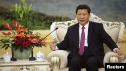中國國家副主席的習近平(資料照片)