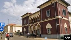 La Banque Nationale d'Érythrée à Asmara, le 22 juillet 2013.