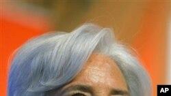 Ministar kudi ta kasar Faransa Christine Lagarde.