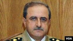 敘利亞國防部長達烏德•拉吉哈(資料照片)