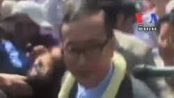Opposition Leader Sam Rainsy Calls for Justice for Cambodians