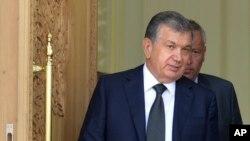 Thủ tướng Uzbekistan Shavkat Mirziyoyev.