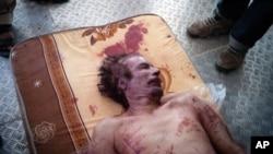 國際刑事法庭表示卡扎菲之死可能構成戰爭罪。(資料圖片)