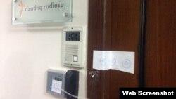 AzadlıqRadiosunun Bakı ofisi möhürləndi.