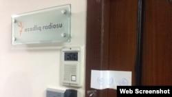 AzadlıqRadiosunun Bakı ofisi möhürlənib