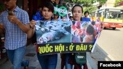 Việt Nam tiếp tục đàn áp biểu tình vụ cá chết