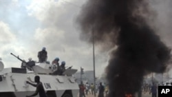 Tiroteio em Abidjan entre apoiantes de Gbagbo e Ouattara