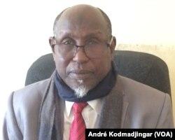 Brahim Ben Seïd secrétaire général de la CLTT N'Djamena, le 4 janvier 2018. (VOA/André Kodmadjingar).
