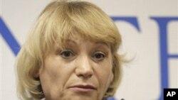 選舉監督機構格羅斯負責人施巴諾娃。