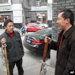 """重庆街头的""""棒棒军"""""""