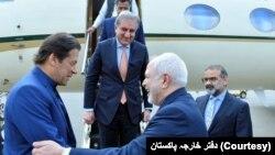 پاکستان کے وزیر اعظم ایک روزہ دورے پر ایران کے دارالحکومت پہنچے ہیں