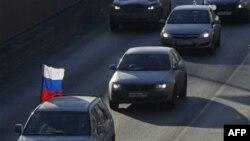 Автопротесты в Москве (архивное фото)