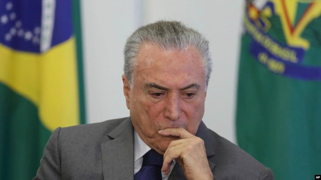 巴西全国罢工 抗议政府的紧缩措施
