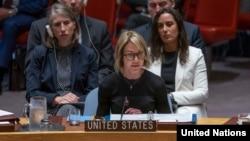 کلی کرفت نماینده آمریکا در سازمان ملل متحد - آرشیو
