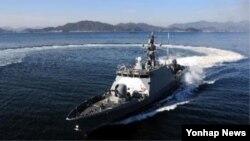 방위사업청은 3일 유도탄고속함 10번함인 '임병래함'을 해군에 인도했다고 밝혔다. 사진=방위산업청 제공.