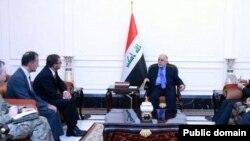 وزیر دفاع آمریکا با حیدر العبادی، نخست وزیر عراق دیدار و گفتگو کرد.