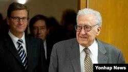 라크다르 브라히미 유엔-아랍연맹 시리아 담당 특사