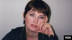 Лариса Садилова в Нью-Йорке. 1999 г. Photo Oleg Sulkin
