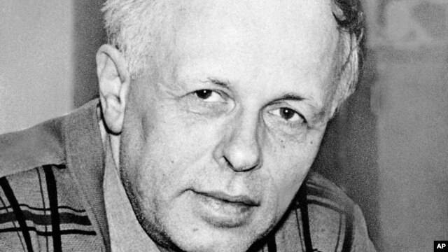 FILE - Soviet dissident Andrei Sakharov is seen in a 1974 photo.