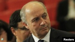 Laurent Fabius reste optimiste quant au sort des otages