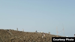 巴基斯坦地震岛 (巴基斯坦世界自然基金会拉希姆为美国之音拍摄)