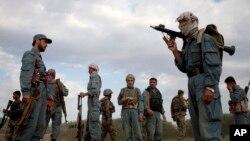 نیرو های پولیس محلی در شمال افغانستان