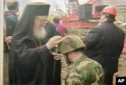 O Αρχιεπίσκοπος Αμερικής κ Δημήτριος στο Σημείο Μηδέν