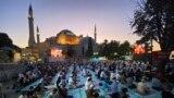 Yadda Aka Gudanar Da Sallar Idi A Masallacin Hagia Sophia Na Istanbul