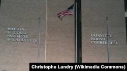 Lafayette Parish Courthouse, Lafayette, Lousiana.
