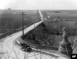 1920年马里兰的一条公路