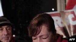 Ирина Богданова, сестра арестованного лидера оппозиции Андрея Санникова