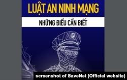 Cẩm nang về Luật An ninh mạng, sách của nhóm SaveNET
