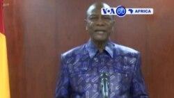 Alpha Condé a annonce un allègement du couvre-feu à Conakry