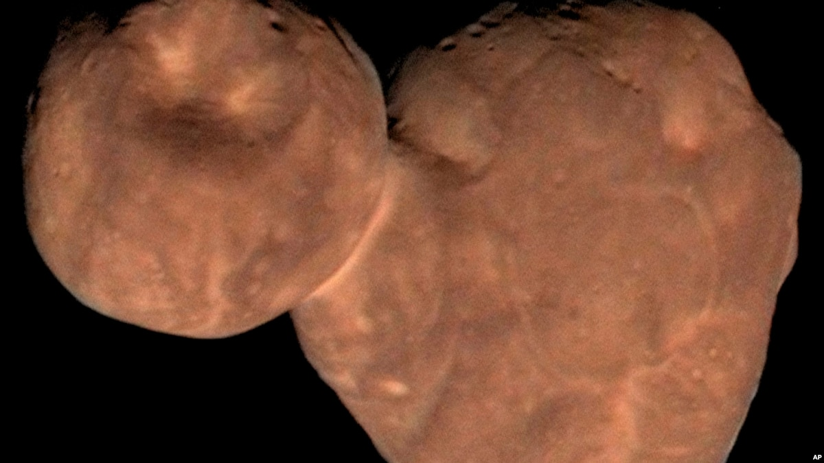 Arrokoth: Most Distant Space Object Ever Explored - VOA Learning English