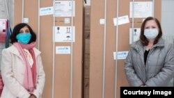Donacija frižidera za skladištenje vakcina (Izvor: Unicef)