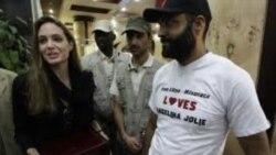 آنجلینا جولی در لیبی