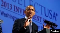 El presidente Obama dijo que el gobierno federal ayudará a firmas extranjeras que quieran invertir en el país.
